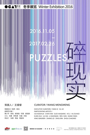 ZHANG Lei Participates in PUZZLES-OCAT Xi'an Winter Exhibition 2016